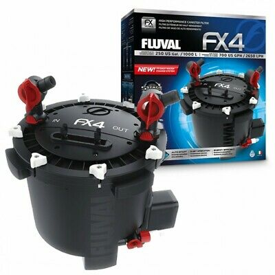 Fluval FX4 Aquarium Canister Filter With Free 3 in 1 Maintenance Tool