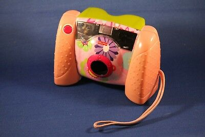 2006 FISHER PRICE PINK Kid Tough Real DIGITAL CAMERA Great Working Condition