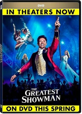 NEW: The Greatest Showman (DVD,2017) - Drama- PRE-ORDER SHIPS ON04-10-18