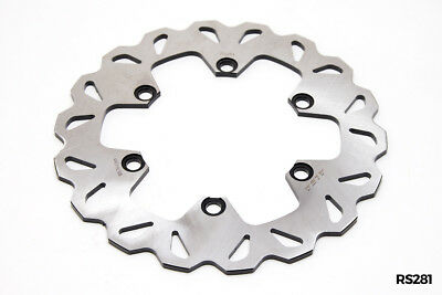 KLR 650 08 up  Brake Rotor Disc Rear Stainless  Highest Quality Alba Racing 281