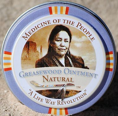 3 Tins Navajo Medicine Of The People Greasewood Skin Ointment Eczema Psoriasis