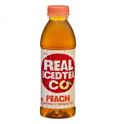 Real Iced tea Co Peach Ice Tea 500ml x 12
