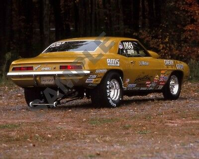 Chevy A/GOGO Camaro Gasser Pro-Stock Dragster Drag Racing 8x10 Poster Photo 471