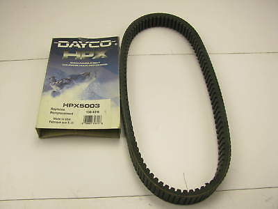 """Dayco HPX5003 High Performance Extreme Drive Belt - 1.36"""" X 43.25"""""""