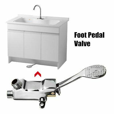 Switch Control By Foot Foot Pedal Valve Hospital Bathroom Pedal Water Faucet JW
