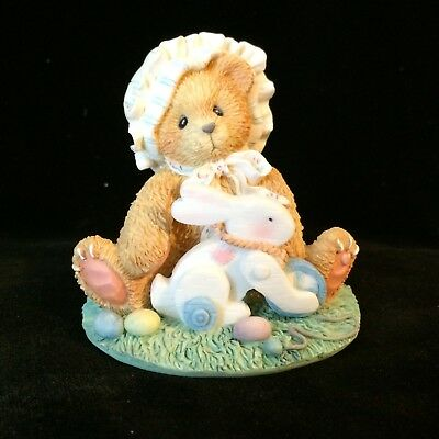 Cherished Teddies Melissa #103829 - Every Bunny Needs A Friend