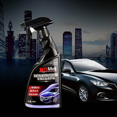Car Body Waxing Polishing Spray Liquid Glazing Anti Scrape Paint Coating Spray