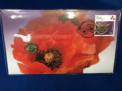 2014 GREEN $2  Remembrance Day Two Dollar coin PNC