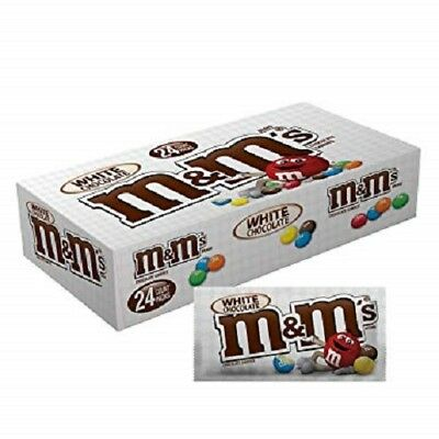M&M's White Chocolate 42g (Pack of 24)