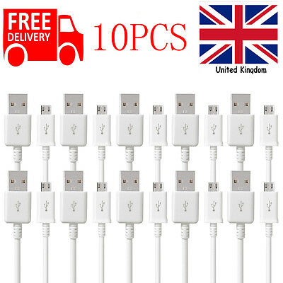 5/10 Pack Micro USB Data Sync Cable Lead fr Android Phones Samsung 1M 2M 3MCable