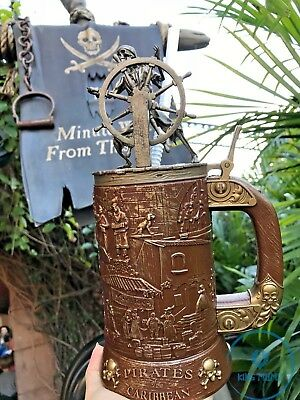 Disney Parks Disneyland Pirates of the Caribbean Stein Mug Cup 50th Anniversary