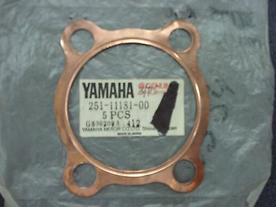 Genuine Yamaha Gasket Cylinder Head Ct At Atm Dt Mx Ty 251-11181-00