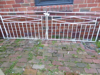 Reduced Vintage Retro Iron Metal Driveway Gates Pick Up Highett 3190