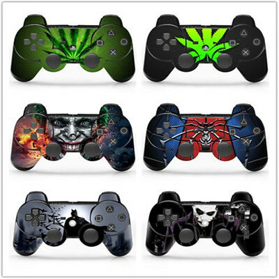 Vinyl Decal Skin Sticker for Playstation 3 PS3 Remote Controller (6 Styles)