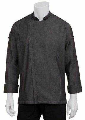 Chef Works Men's Gramercy Denim Chef Coat (EXDZ001)