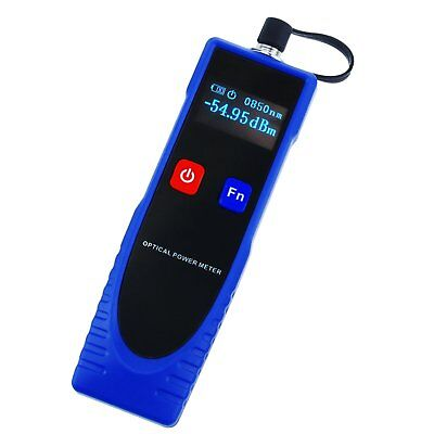 Power Meter Cable Tester Fiber Optic with 6 Optic Wave Length & FC converter