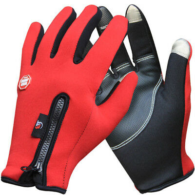 Gloves Winter Outdoor Thermal Bike Cycling Windproof Sports Full Finger Warm