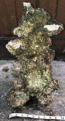 "17"" Tall Aquaroche Ceramic  Live Rock Tower 8.1Kg For Marine Saltwater Fish Tank"