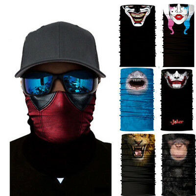 Face Shield Sun Mask Headwear Neck Gaiter Balaclava Outdoor animal Scarf UV