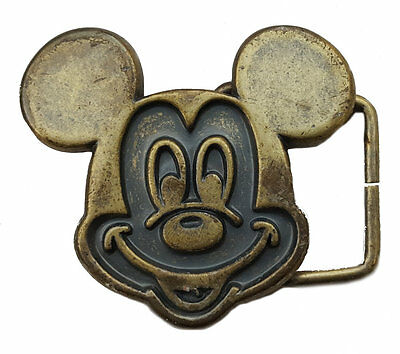 Mickey Mouse Belt Buckle 5 cm X 5 cm Boys Girls Unisex Disney Design