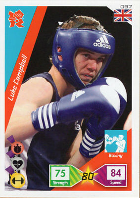 Panini Official London 2012 Olympics Adrenalyn Xl Luke Campbell - Boxing
