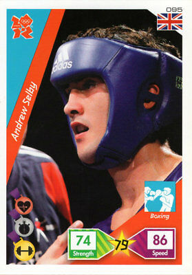 Panini Official London 2012 Olympics Adrenalyn Xl Andrew Selby - Boxing