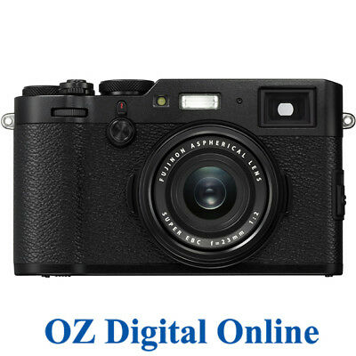 NEW Fujifilm FinePix X100F Black 24.3MP Full HD Digital Camera 1 Yr Aus Wty
