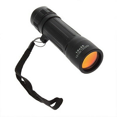 New Monocular Telescope10*25Camping Hiking Hunting Sports FT