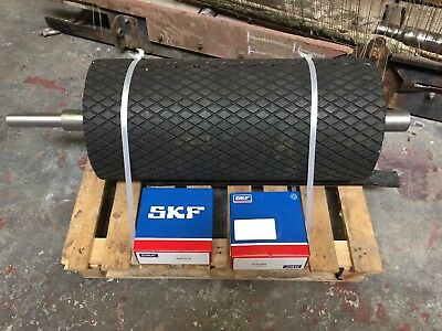 Conveyor Drum lagged, new bespoke heavy duty drive drum roller 168 x 550mm