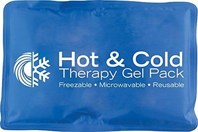Hot Cold Therapy Pad Reusable Gel Ice Pack Pain Relief Sport Back Medium Size