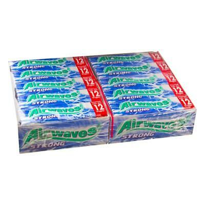 Wrigleys Airwaves Strong Dragees Menthol Kaugummi 30 Packungen à 10 Kaugummis