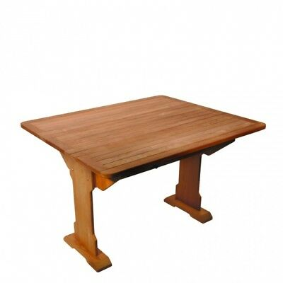 Table Mayflower Pliante En Teck 112 X 93 X 71 Cm Arc Marine 4160