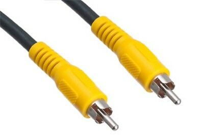 Single RCA High-Performance Video Patch Cable - 3',6',12',25', or 50'  (25-140)