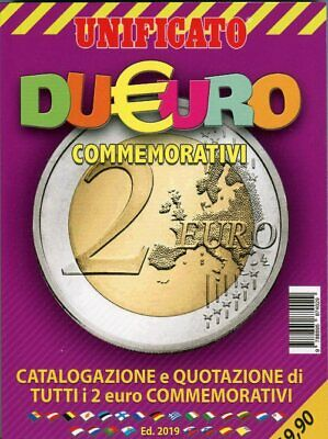 Catalogo Unificato Due Euro commemorativi ed. 2019