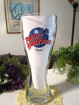 """planet Hollywood""--Toronto- Original Pilsner Beer Glass"