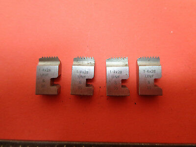 Wharco 1/4in x 28TPI  UNF die chasers for 'S' type 1/4in head LOTTHDC0998