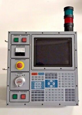 Haas VF Mil Operator Interface pendant keyboard panel CRT monitor & MPG
