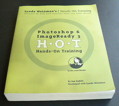Photoshop 6 ImageReady 3 HOT Hands On Training teach yourself using how to use