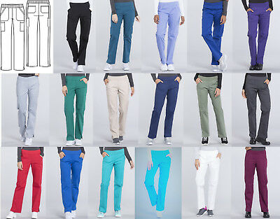 Cherokee Workwear Professionals Pull-On Scrub Pant WW170 Pick Size & Color