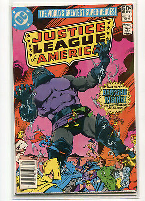 Justice League of America #183, #184, #185 (1st Darkseid vs JLA) Newstand Copies