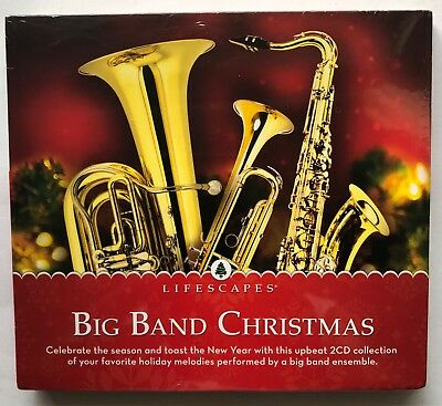 big band christmas collection 2cd lifescapes 2013 brand new factory sealed - Big Band Christmas