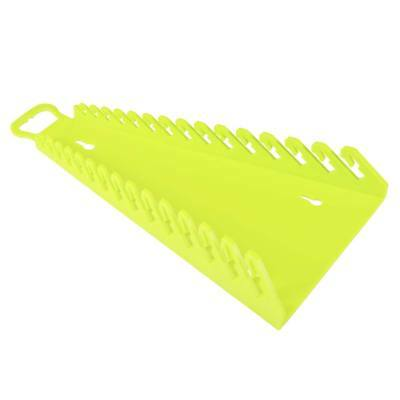 Ernst Hiviz Reverse Yellow Gripper Wrench Organizer Rack Tray (5182Hv)