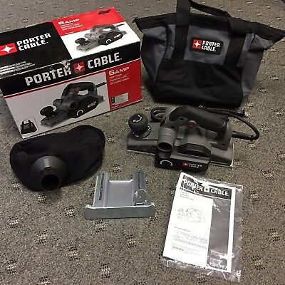 Porter-Cable 6 Amp Hand Planer PC60THP New Box Shows Little Wear...