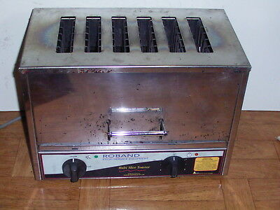 ROBAND COMMERCIAL KITCHEN TOASTER HEAVY DUTY TC66 WORKING GOOD Sydney