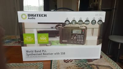 Digitech world band synthesised receiver with SSB