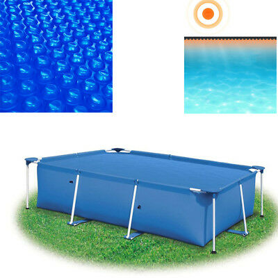 SWIMMING POOL SOLAR Pool Cover Blanket 5 Size Rectangular ...