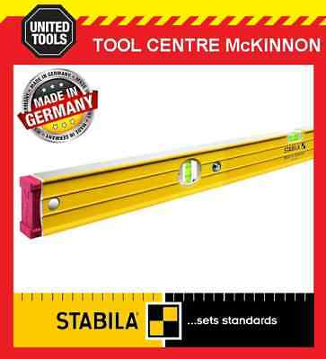 STABILA 200cm / 2m 96-2/200 BOX FRAME RIBBED HEAVY DUTY 3-VIAL SPIRIT LEVEL