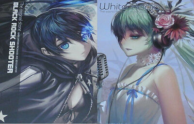 RA Hatsune Miku & Black Rock Shooter color art book