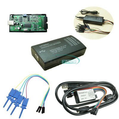 LHT00SU1 USB Logic Analyzer Virtual Oscilloscope Device I2C SPI 24MHz for M100 M