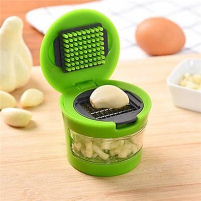 Home Garlic Press Chopper Slicer Hand Presser Grinder Crusher Kitchen Tool D